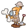 Archeology with a shovel